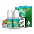 E-liquid Ecoliquid Double Pack 2x10ml / 6mg: Ledový meloun