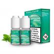 E-liquid Ecoliquid Double Pack 2x10ml / 6mg: Mentol