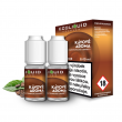E-liquid Ecoliquid Double Pack 2x10ml / 18mg: Káva