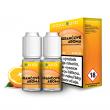 E-liquid Ecoliquid Double Pack 2x10ml / 20mg: Pomeranč