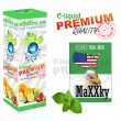 E-liquid: PREMIUM - 50ml / 36mg: MaXXky MENTOLOVÉ (Green USA MIX