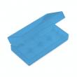 Plastové ochranné pouzdro pro baterie 2x18650 (Modré)