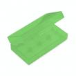 Plastové ochranné pouzdro pro baterie 2x18650 (Zelené)