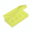 Plastové ochranné pouzdro pro baterie 2x18650 (Žluté)