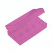 Plastové ochranné pouzdro pro baterie 2x18650 (Růžové)
