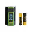 Elektronický grip: WISMEC Reuleaux RX2 21700 Mod (Gradient Green)