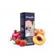 Příchuť CrazyMix: Pomegranate x Peach x Strawberry (Granátové jablko, broskev a jahoda) 10ml