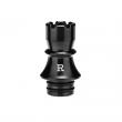 Nerezový náustek KIZOKU Chess 510 - Rook (Černý)