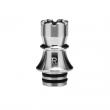 Nerezový náustek KIZOKU Chess 510 - Rook (Stříbrný)