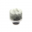 Resinový náustek Noctilucent Stainless Steel 510 #6 (Vzor C)