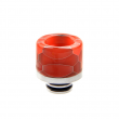 Resinový náustek Noctilucent Stainless Steel 510 #6 (Vzor E)