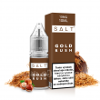 E-liquid Juice Sauz SALT 10ml / 10mg: Gold Rush (Tabák)