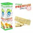 E-liquid: PREMIUM - 30ml / 6mg: ČOKOLÁDA BÍLÁ (White Chocolate)