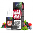 E-liquid Aramax 10ml / 0mg: Bobulovitý mix s mátou (Berry Mint)