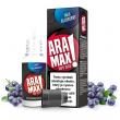 E-liquid Aramax 10ml / 18mg: Borůvka (Max Blueberry)