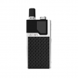 Elektronická cigareta: Lost Vape Orion DNA GO Pod Kit (950mAh) (Silver Textured Carbon Fiber)