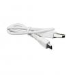 USB / Micro USB kabel pro elektronickou cigaretu (Bílý)