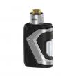 Elektronický grip: GeekVape Aegis Squonker Kit s Tengu RDA (Stříbrný)