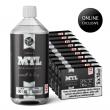 Báze JustVape MTL (50VG/50PG) 50x 10ml / 18mg + 1l / 0mg set