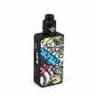 Elektronický grip: Rincoe Manto Pro Kit s Metis RDA (Graffiti)