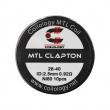 Předmotané spirálky Coilology MTL Series - MTL Clapton Ni80 (0,92ohm) (10ks)