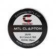 Předmotané spirálky Coilology MTL Series - MTL Clapton SS316L (0,7ohm) (10ks)