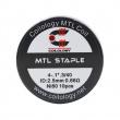 Předmotané spirálky Coilology MTL Series - MTL Staple Ni80 (0,68ohm) (10ks)