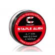 Předmotané spirálky Coilology Staple Alien Ni80 (0,14ohm) (2ks)