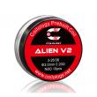Předmotané spirálky Coilology Alien V2 Ni80 (0,21ohm) (10ks)