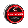 Předmotané spirálky Coilology Interlock Alien Ni80 (0,11ohm) (2ks)