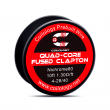 Odporový drát Coilology - Quad-core Fused Clapton Ni80 (3m)
