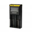 Multifunkční nabíječka baterií - Nitecore Intellicharger D2 LCD (2 sloty)