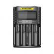 Multifunkční nabíječka baterií - Nitecore Intellicharger UM4 LCD (4 sloty)