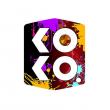 Vyměnitelný boční panel pro Uwell Caliburn KOKO PRIME (Bílý) (2ks)