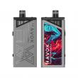 Elektronická cigareta: Uwell Havok V1 Mod Pod Kit (1800mAh) (Stříbrná)