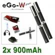 eGo-W 900mAh černá, 2ks