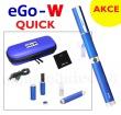 Elektronická cigareta eGo-W (Modrá), 1ks