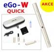 Elektronická cigareta eGo-W (Chromová), 1ks