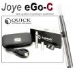 Elektronická cigareta JoyeTech eGo C stříbrná, 1ks