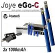Joyetech eGo-C 1000mAh modrá, 2ks