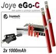 Joyetech eGo-C 1000mAh červená, 2ks
