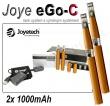 Joyetech eGo-C 1000mAh copper, 2ks