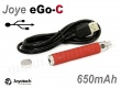 Joyetech eGo-C Upgrade s USB baterie 650 mAh - Red