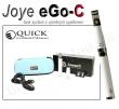 Elektronická cigareta JoyeTech eGo C bílá, 1ks