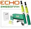 Elektronická cigareta: ECHO - TRAVEL KIT (2x 650mAh) (Zelená), 2