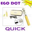[!Doprodej] - Elektronická cigareta: eGo DCT QUICK (Titanium Gol
