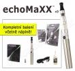 Elektronická cigareta: echoMaXX v3™ (BLISTER KIT) (Chromová), 1k