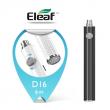 Baterie Eleaf iJust D16 eGo LED (VV) 850mAh (Černá)