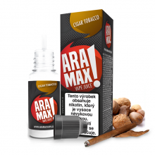 E-liquid Aramax 10ml / 18mg: Cigar Tobacco (Tabák)