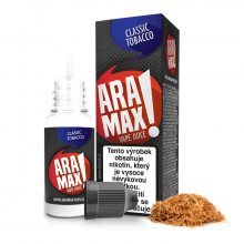 E-liquid Aramax 10ml / 18mg: Classic Tobacco (Tabák)